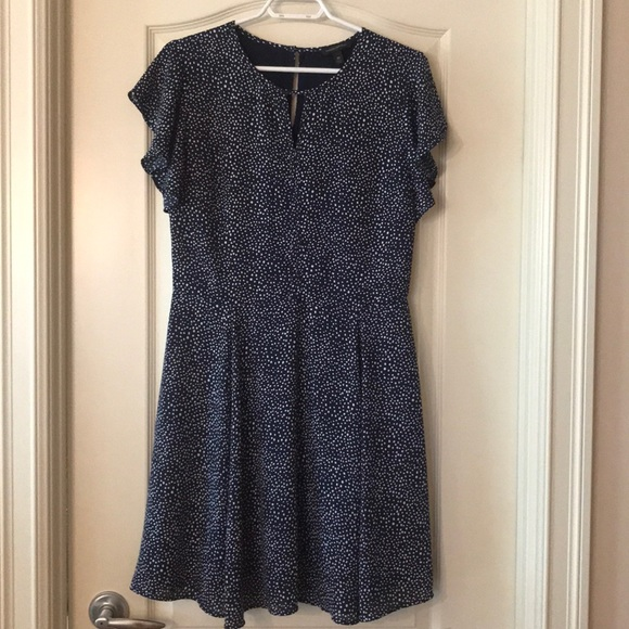 EUC Flutter Sleeve Dress